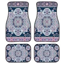 4 in 1 Patroon Universal Printing Auto Car Floor Mats Set  Style:HX199GP