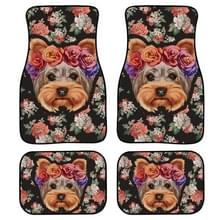 4 in 1 Patroon Universal Printing Auto Car Floor Mats Set  Style:HX206GP