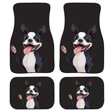 4 in 1 Animal Pattern Universal Printing Auto Car Floor Mats Set  Style:Z165GP