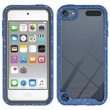 Voor iPod Touch 5 / 6 / 7 Shockproof Starry Sky PC + TPU Beschermhoes(Blauw)