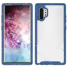 Voor Galaxy Note 10 Plus Shockproof Starry Sky PC + TPU Beschermhoes (Blauw)
