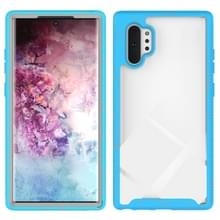 Voor Galaxy Note 10 Plus Shockproof Starry Sky PC + TPU Beschermhoes (Sky Blue)