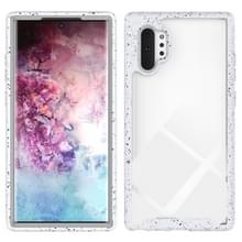 Voor Galaxy Note 10 Plus Shockproof Starry Sky PC + TPU Beschermhoes (Wit)