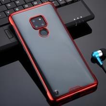 Voor Huawei Mate 20 SULADA Borderless Drop-proof Vacuum Plating PC Case (Red)