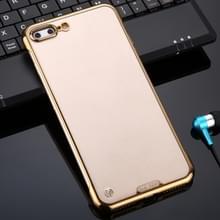 Voor iPhone 7 Plus / 8 Plus SULADA Borderless Drop-proof Vacuum Plating PC Case (Gold)