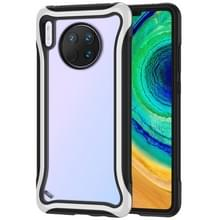 Voor Huawei Mate 30 Blade Series Transparante AcrylProtective Case (Wit)
