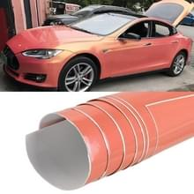 1.52 x 0.5m Auto Decoratieve Wrap Film Symphony PVC Body Changing Color Film (Symphony Goud-roze)