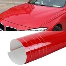 1.52 x 0.5m Auto Car Decorative Wrap Film Crystal PVC Body Changing Color Film (Crystal Red Carmine)