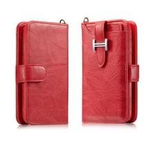 Voor Galaxy Note 10 Elegant Series H-type Buckle Horizontal Flip Leather Case met Card Slots & Wallet & Photo Frame(Red)