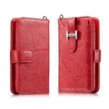 Voor Galaxy S9 Elegant Series H-type Buckle Horizontal Flip Leather Case met Card Slots & Wallet & Photo Frame(Red)