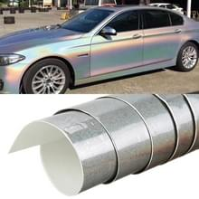 5 x 0 5 m Auto Decoratieve Wrap Film Laser PVC Body Changing Color Film (Laser Zilver)