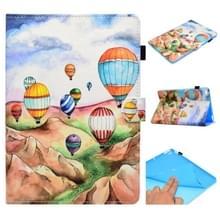 Voor iPad Air / Air 2 / iPad 9.7 / 2017 / 2018 Painted Horizontal Flat Leather Case met Sleep Function & Card Slot & Buckle Anti-skid Strip & Bracket & Wallet(Balloon)