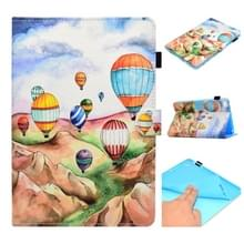 Voor iPad Mini 1 / 2 / 3 / 4 / 5 Painted Horizontal Flat Leather Case met Sleep Functie & Card Slot & Buckle Anti-slip Strip & Bracket & Wallet(Balloon)