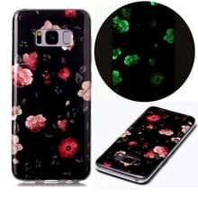 Voor Samsung Galaxy S8 Luminous TPU Soft Protective Case(Rose)
