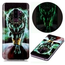 Voor Samsung Galaxy S9 Luminous TPU Soft Protective Case (Woeste Wolf)