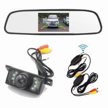 PZ705 415-W 4 3 inch TFT LCD-auto externe draadloze achteruitkijkmonitor voor auto achteruitkijkscherm Videosystemen