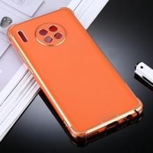 Voor Huawei Mate 30 SULADA Kleurrijke Shield Series TPU + Plating Edge Beschermhoes (Oranje)