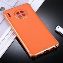 Voor Huawei Mate 30 Pro SULADA Kleurrijke Shield Series TPU + Plating Edge Beschermhoes (Oranje)