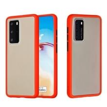 Voor Huawei P40 Pro Skin Hand Feeling Series Anti-fall Frosted PC+ TPU Protective Case(Red)