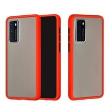 Voor Huawei P40 Skin Hand Feeling Series Anti-fall Frosted PC+ TPU Protective Case(Red)