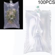 100 PCS Grape Opblaasbare Tas Express Fruit Protective Bag Packaging Bag  Specificatie:35x45cm