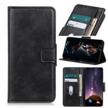 Voor Alcatel 1SE 2020 Mirren Crazy Horse Texture Horizontale Flip Lederen Kast met Holder & Card Slots & Wallet(Zwart)