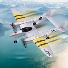 FX-816 EPP 2 4 GHz 2CH Schokbestendige RC P38 Fighter met afstandsbediening