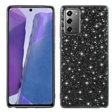 Voor Samsung Galaxy Note 20 Glitter Powder Shockproof TPU Beschermhoes (Zwart)