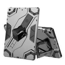 Voor iPad 10.2 Escort Series TPU + PC Schokbestendige beschermhoes met houder(zwart)