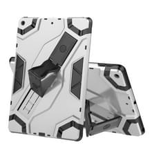 Voor iPad 10.2 Escort Series TPU + PC Schokbestendige beschermhoes met houder(zilver)