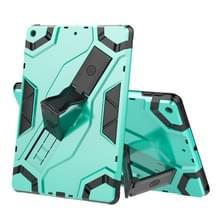 Voor iPad 10.2 Escort Series TPU + PC Schokbestendige beschermhoes met houder (MintGroen)