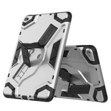 Voor iPad mini (2019) / mini 5 Escort Series TPU + PC Shockproof Beschermhoes met houder(zilver)