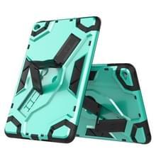 Voor iPad mini (2019) / mini 5 Escort Series TPU + PC Shockproof Beschermhoes met houder(MintGroen)