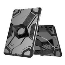 Voor iPad Air 2 / iPad 6 Escort Series TPU + PC Schokbestendige beschermhoes met houder(zwart)