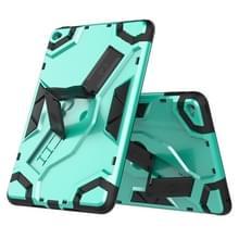 Voor iPad mini 4 Escort Series TPU + PC Shockproof beschermhoes met houder (MintGroen)