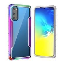 Voor Samsung Galaxy S20+ Blade Metal Clear PC + TPU Shocproof Beschermhoes(Kleurrijk)