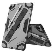 Voor Samsung Galaxy Tab S6 Lite P610/P615 Escort Series TPU + PC Schokbestendige beschermhoes met houder(zwart)