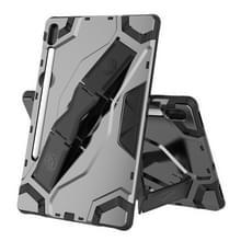 Voor Samsung Galaxy Tab S6 T860/T865 Escort Series TPU + PC Schokbestendige beschermhoes met houder(zwart)