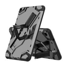 Voor Samsung Galaxy Tab A 8.0 & S Pen (2019) P200/P205 Escort Series TPU + PC Shockproof Beschermhoes met houder(zwart)
