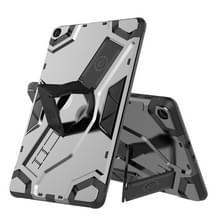 Voor Samsung Galaxy Tab A 10.1 (2019) T510/T515 Escort Series TPU + PC Schokbestendige beschermhoes met houder(zwart)