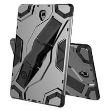 Voor Samsung Galaxy Tab S4 10.5 T830/T835 Escort Series TPU + PC Shockproof Beschermhoes met houder(zwart)