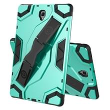 Voor Samsung Galaxy Tab S4 10.5 T830/T835 Escort Series TPU + PC Shockproof Beschermhoes met houder (MintGroen)