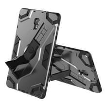 Voor Samsung Galaxy Tab A 10.5 T590/T595 Escort Series TPU + PC Shockproof Beschermhoes met houder(zwart)