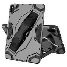 Voor Huawei MatePad 10.4 Escort Series TPU + PC Schokbestendige beschermhoes met houder(zwart)