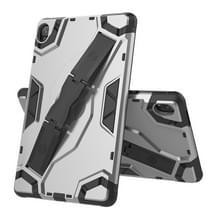 Voor Huawei MediaPad M6 8.4 Escort Series TPU + PC Schokbestendige beschermhoes met houder(zilver)