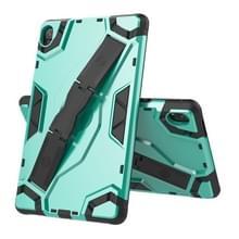 Voor Huawei MediaPad M6 8.4 Escort Series TPU + PC Schokbestendige beschermhoes met houder (MintGroen)