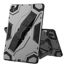 Voor Huawei MediaPad M6 10.8 Escort Series TPU + PC Schokbestendige beschermhoes met houder(zwart)