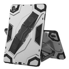 Voor Huawei MediaPad M6 10.8 Escort Series TPU + PC Schokbestendige beschermhoes met houder(zilver)