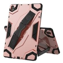 Voor Huawei MediaPad M6 10.8 Escort Series TPU + PC Schokbestendige beschermhoes met houder(Rose Gold)