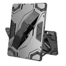 Voor Lenovo Tab M10 TB-X605 Escort Series TPU + PC Schokbestendige beschermhoes met houder(zwart)